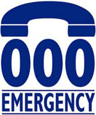 Emergency triple zero logo